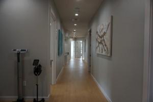 RESTORE back hallway